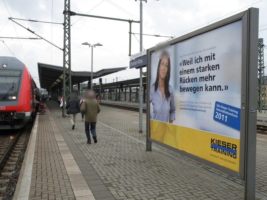 S-Bf Dresden-Mitte, Bahnsteig 1