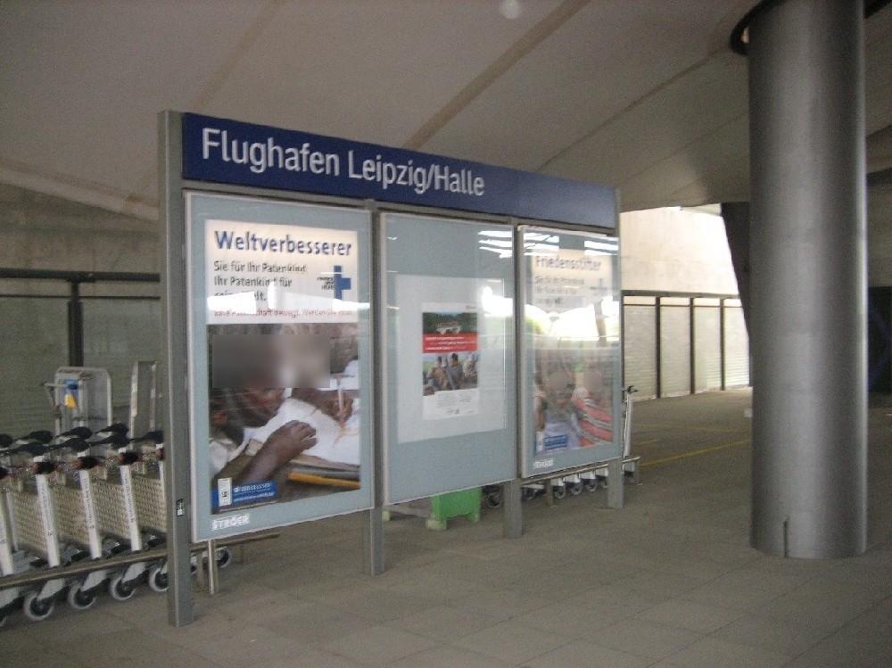Flughafen-Bf Leipzig-Halle, Bstg. 1, 2. Sto. li.