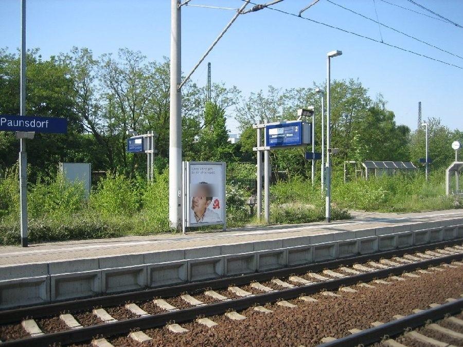 S-Bf Paunsdorf, Bstg., Gleis 2
