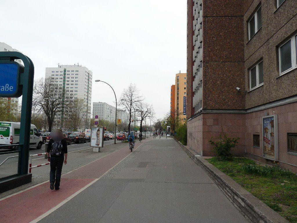 Frankfurter Allee, an Gebäude DB AG,  9.Sto.