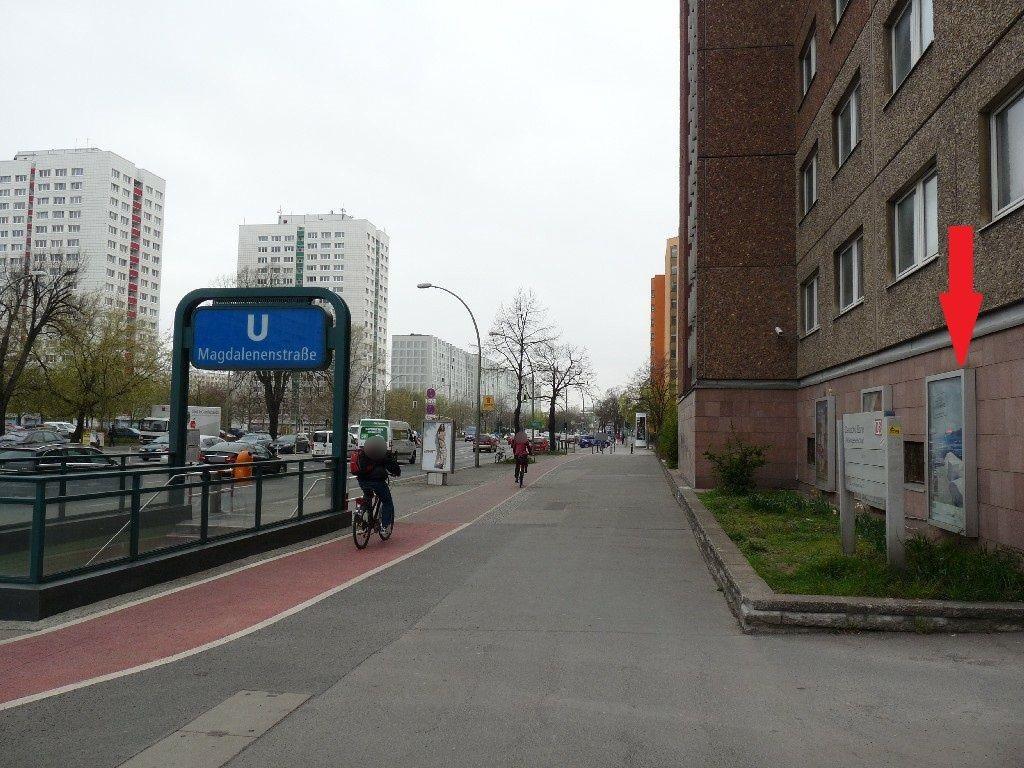 Frankfurter Allee, an Gebäude DB AG, 11.Sto.