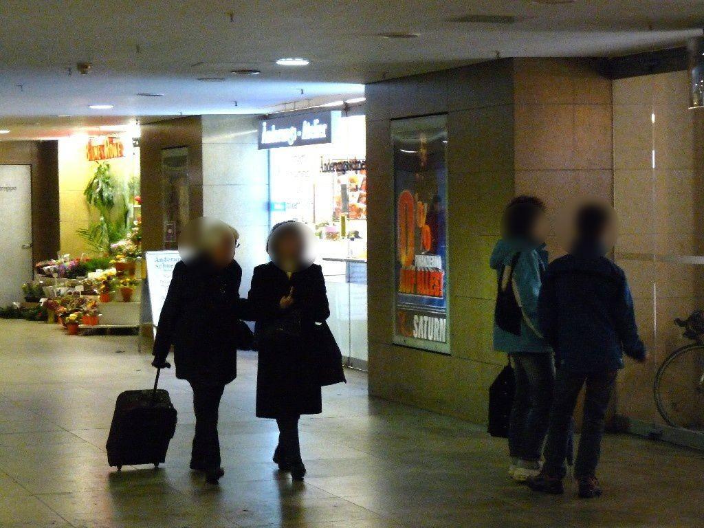 S-Bf Alexanderpl,UG,a.d. Rundtr.li.v.Übg. U-Bahn