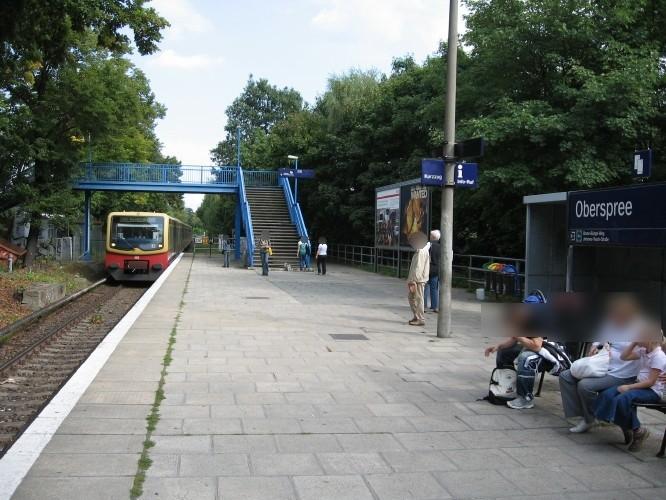 S-Bf Oberspree Bahnsteig