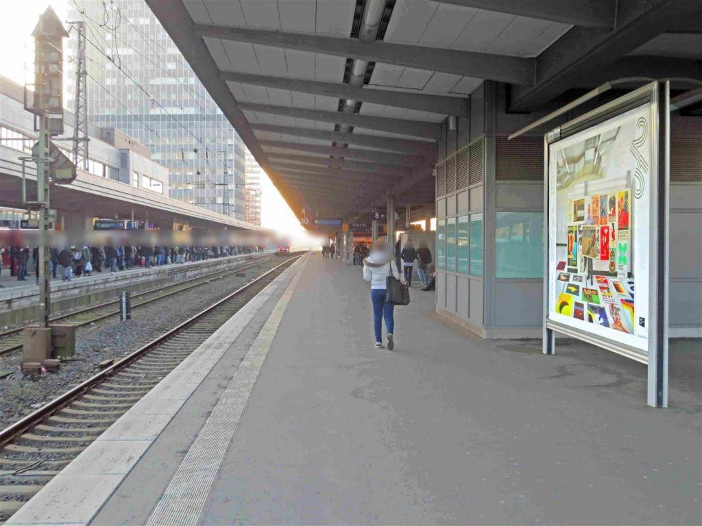 Hbf /Bstg. Gleis 10/Nh. Osttunnel/2. Sto.