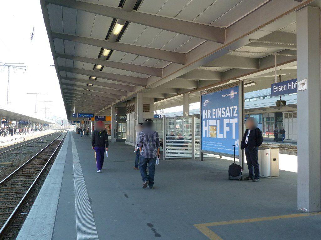 Hbf /Bstg. Gleis 7/Nh. Westtunnel/2. Sto.
