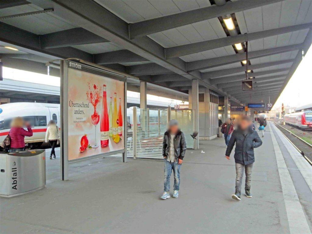 Hbf /Bstg. Gleis 10/Nh. Westtunnel/1. Sto.