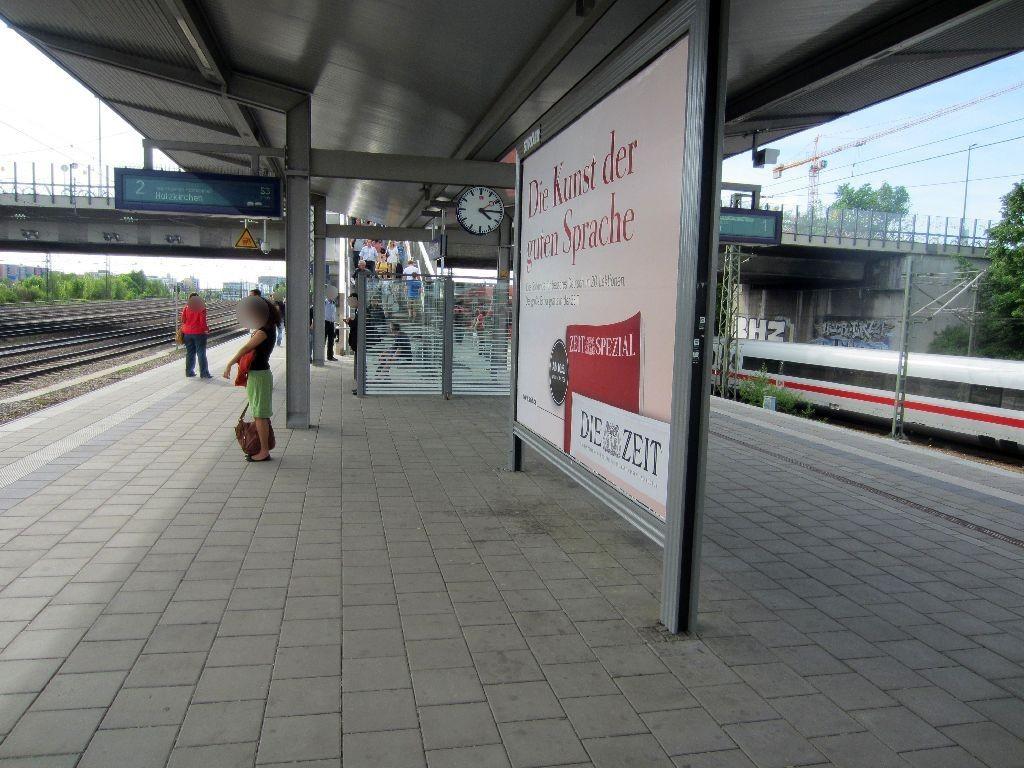 S-Bf Hirschgarten Bstg. Gleis 2 ; 2. Sto.