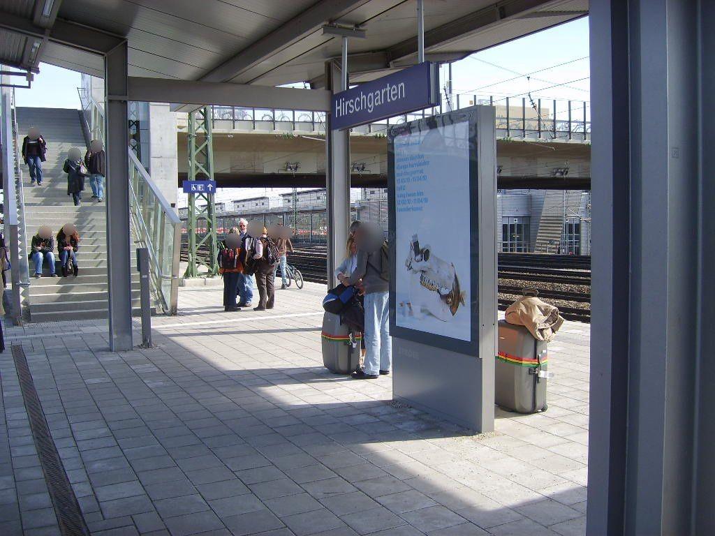 S-Bf Hirschgarten Bstg. Gleis 1 2.Sto.