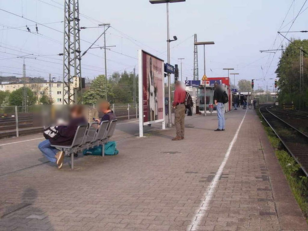 S-Bf West, Bahnsteig, Gleis 1