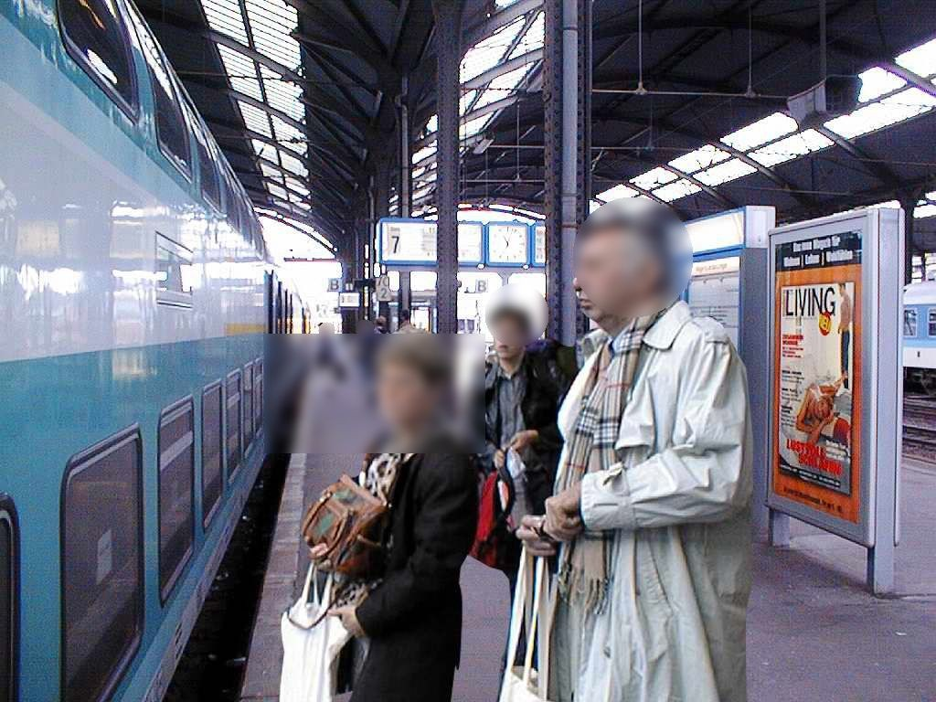 Hbf, Bahnsteig,Gleis 7