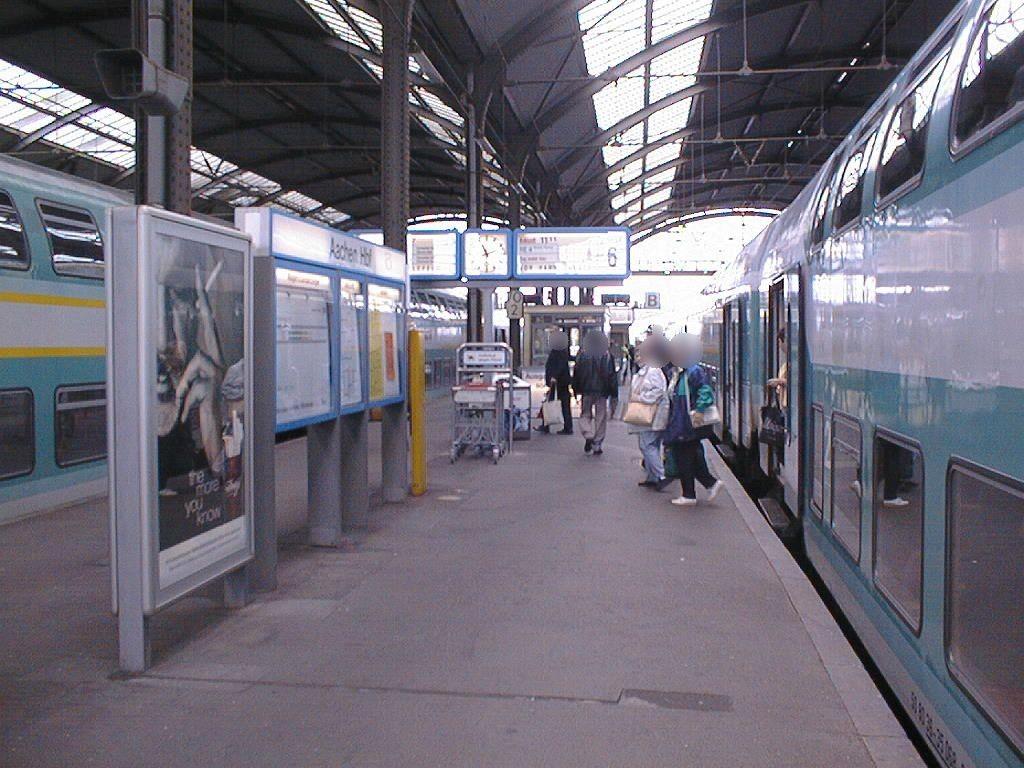 Hbf, Bahnsteig,Gleis 6