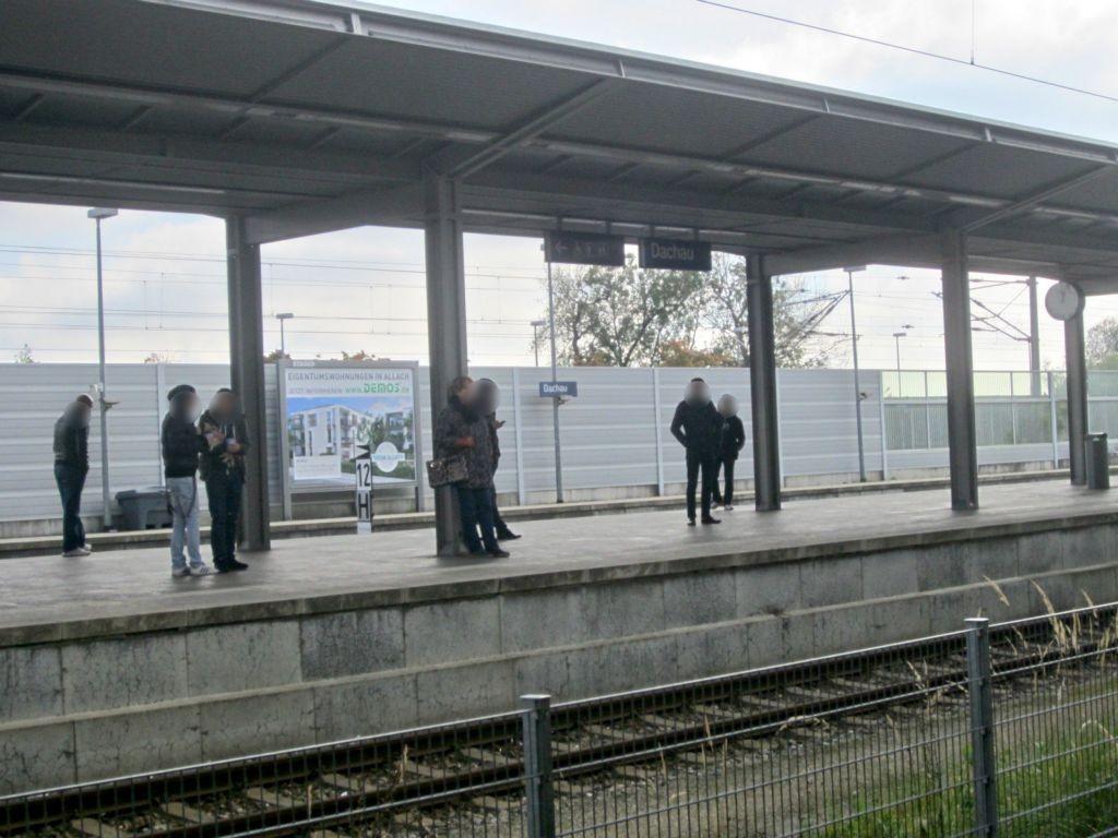 S-Bf Dachau, Bstg., Gleis 4, Sto. 3