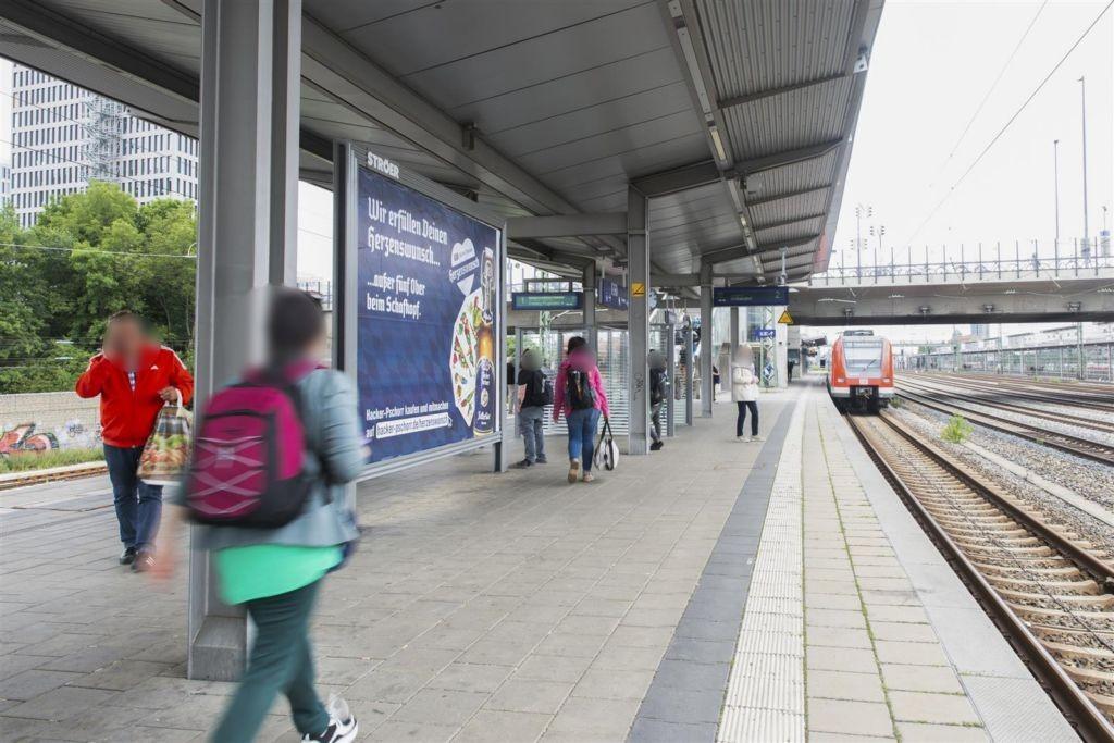 S-Bf Hirschgarten Bstg. Gleis 2, 1.Sto.