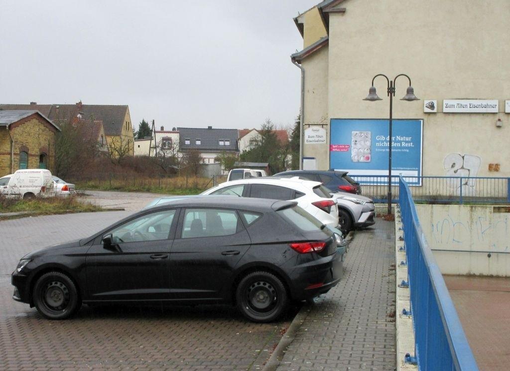 Bahnhofstr./Giebel Bahnhofsgebäude