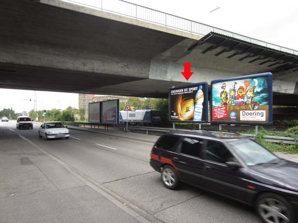 Durmersheimer Str. geg. Vogesenbrücke