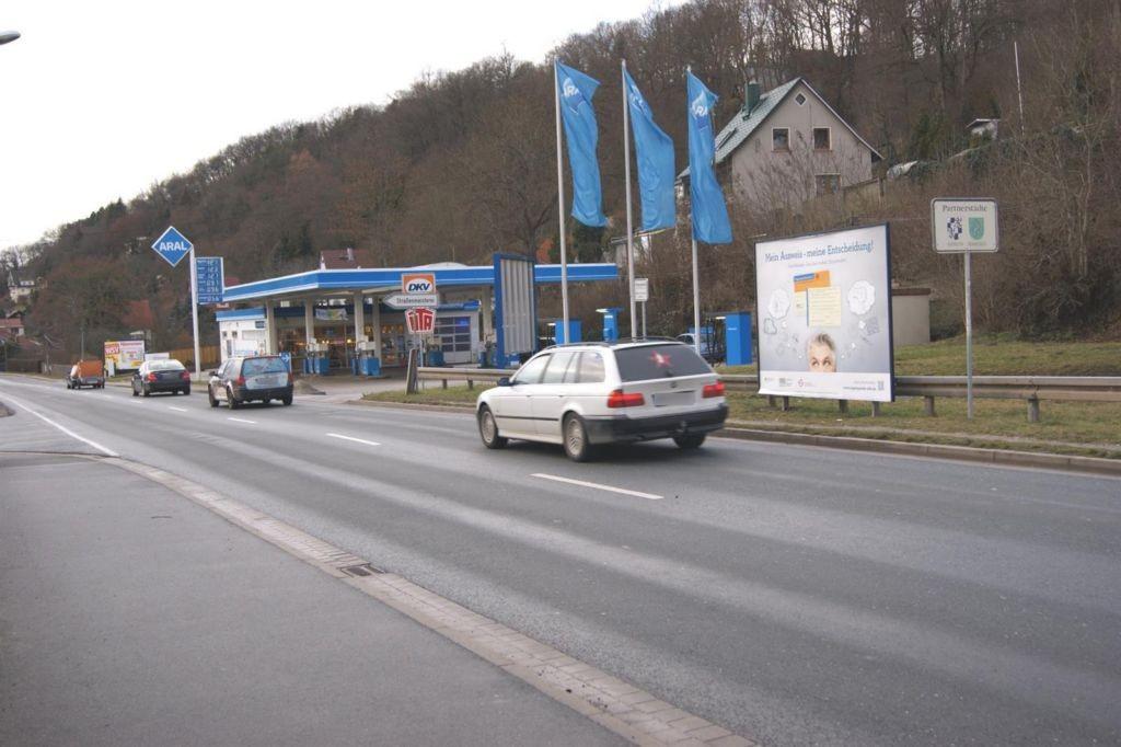 Jenaische Str. (B88) geg. Raiffeisenstr.