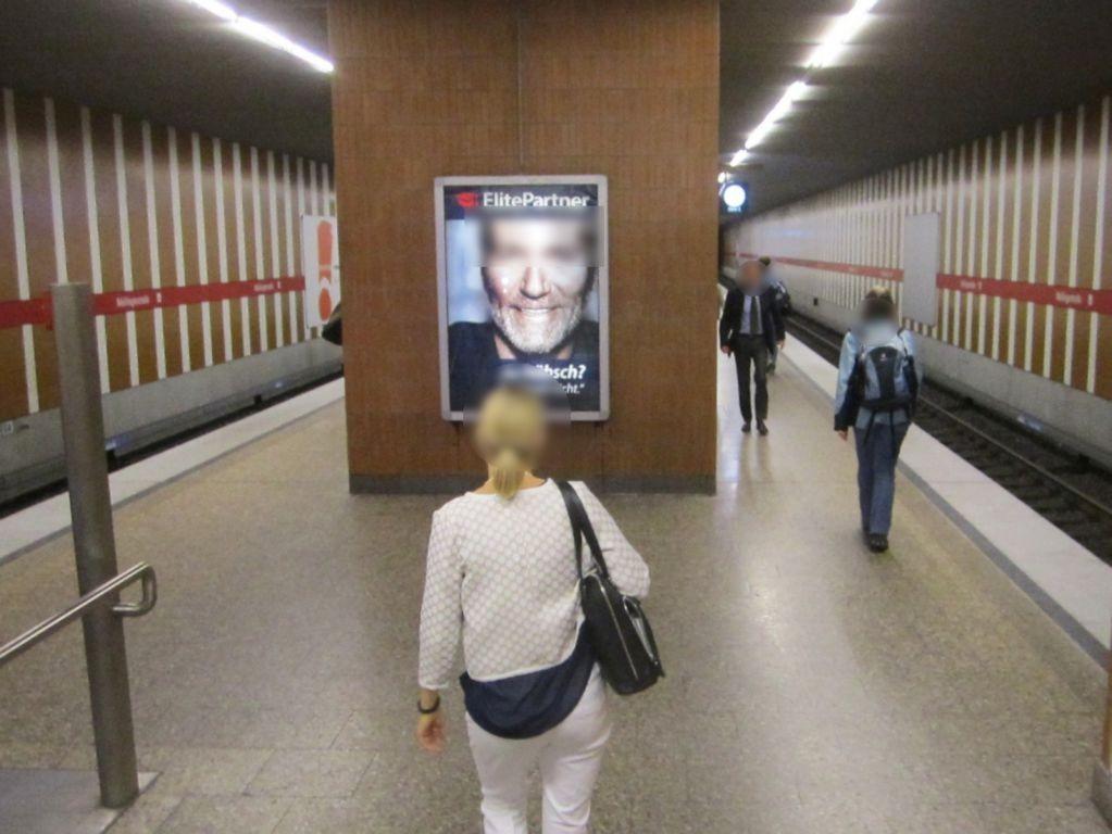 Maillingerstr./Bahnsteig Mitte quer