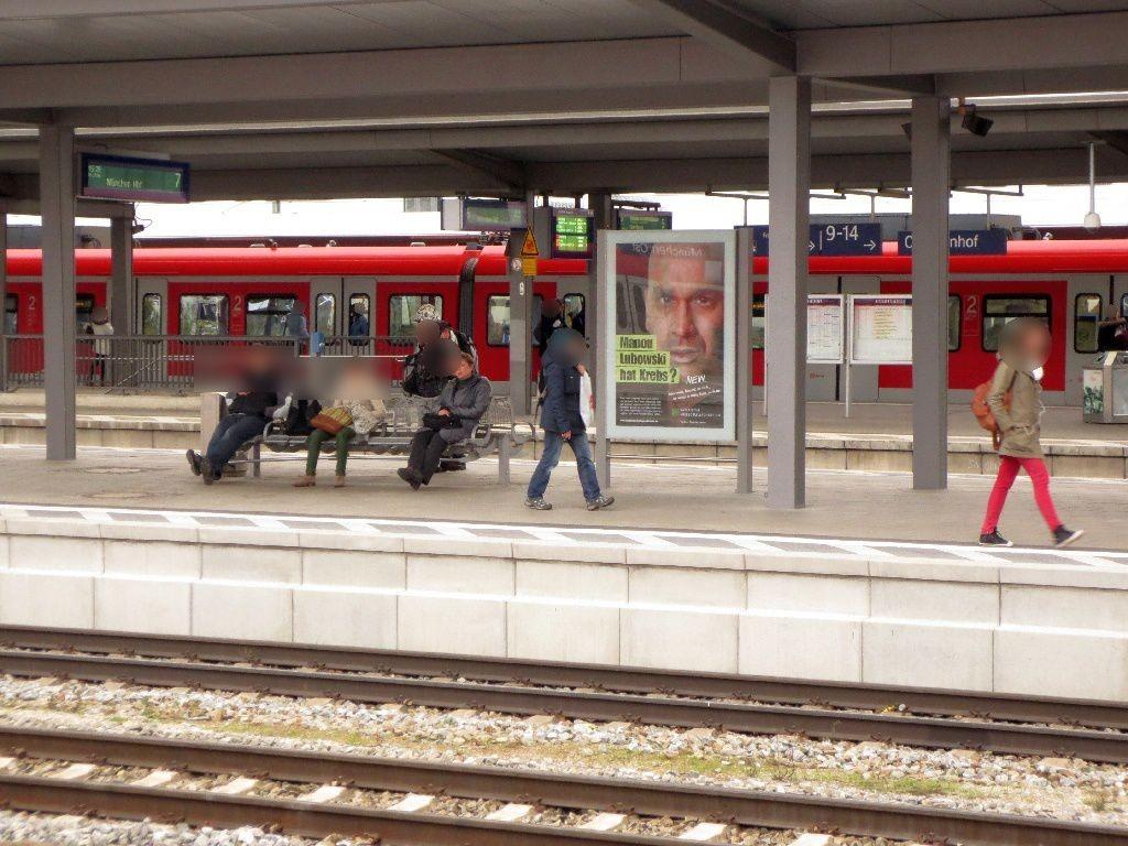 S-Bf Ostbahnhof, Bstg., Gleis 8 Abschnitt B,2.Sto.
