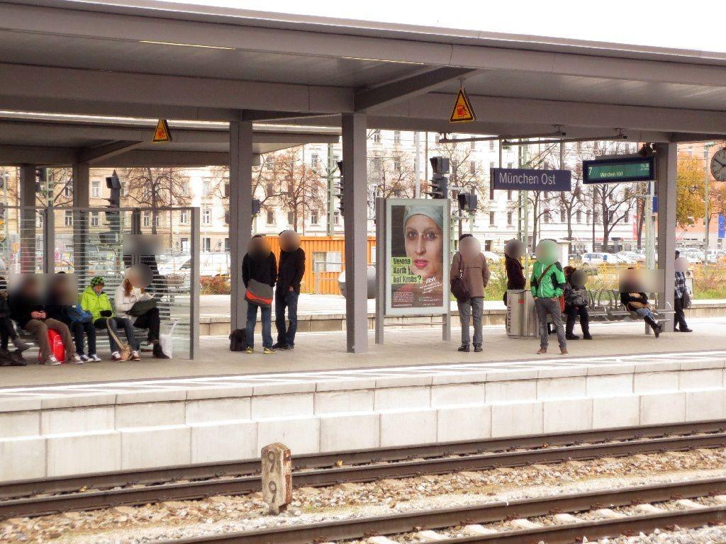 S-Bf Ostbahnhof, Bstg., Gleis 8 Abschnitt B,1.Sto.