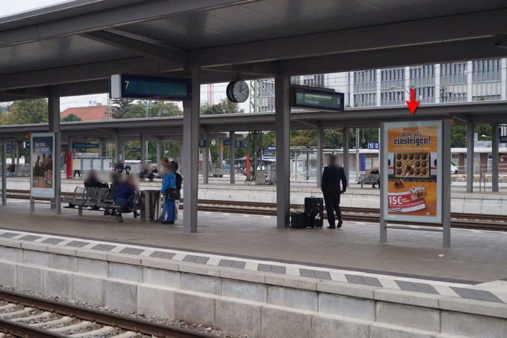 S-Bf Ostbahnhof, Bstg.,Gleis 7 Abschnitt B, 2.Sto.