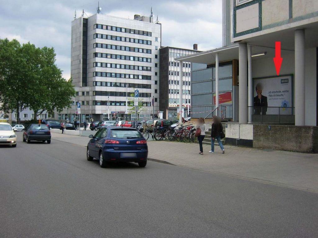 Joseph-Beuys-Str., Hbf-Gebäude, Nordwand