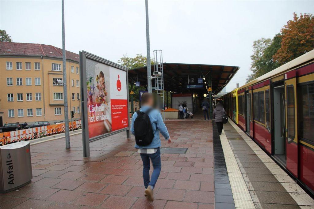 S-Bf Nöldnerplatz, Bstg., Sicht Gl. 2, sew.