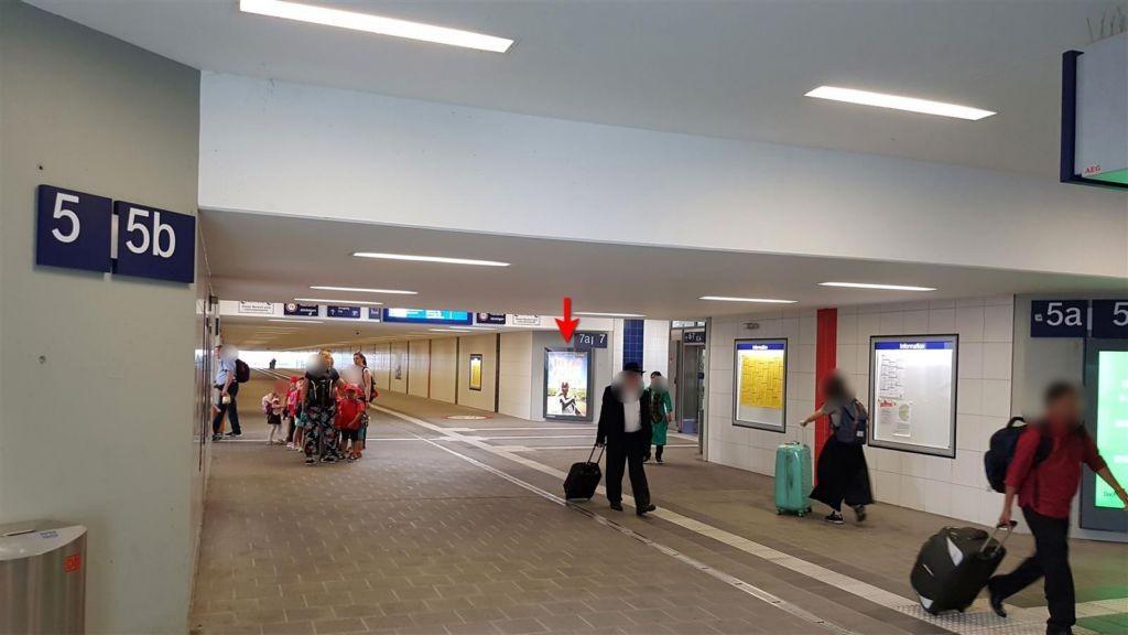 Hbf, Bstg.-Unterführung, Gleis 7a/7