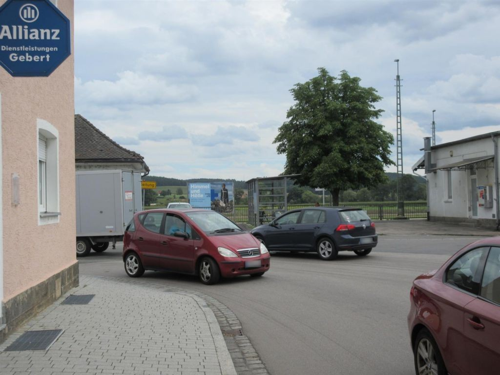 Bahnhofstr./Austr./Bf /Bahnsteig Si. Gl. 1, HGL