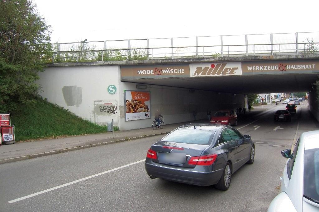 Hauptstr. geg. Ilzweg/Ufg. DB Brücke