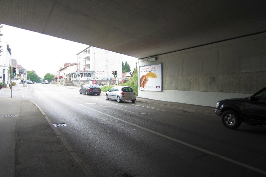 Hauptstr. geg. Bahnhofstr./Ufg. DB Brücke