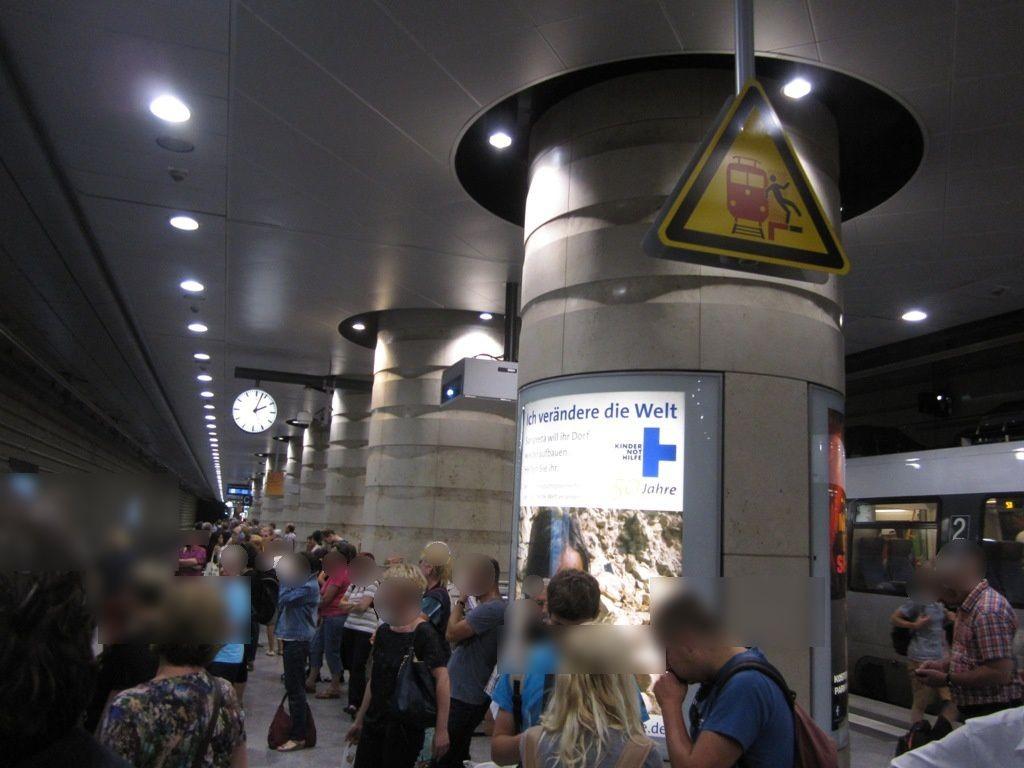 Hbf, Bahnsteig 1/2 /1. S-2