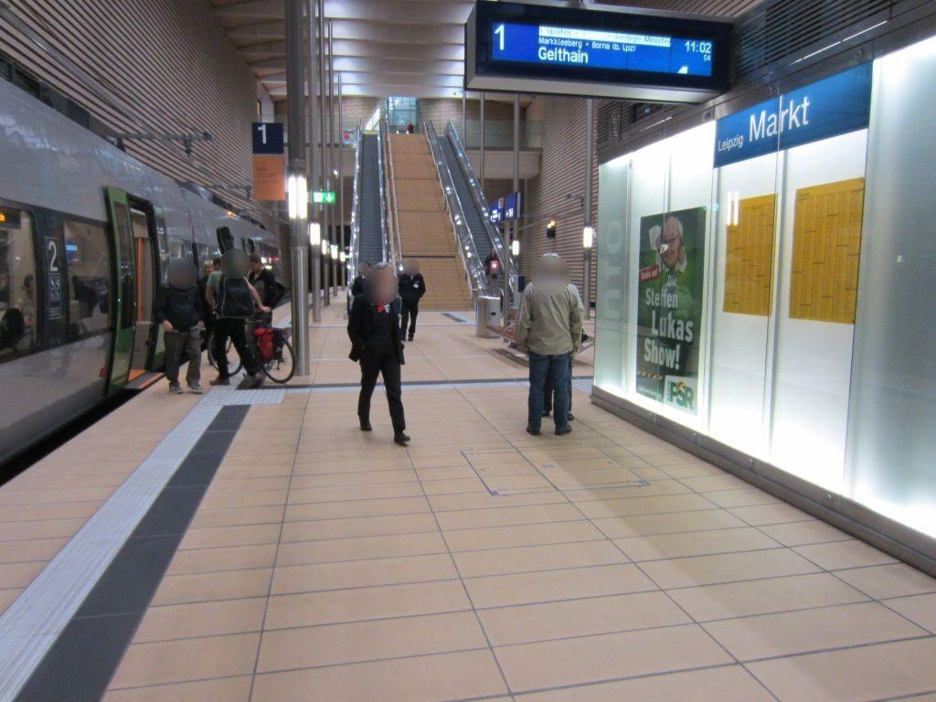City-Tunnel/Station Markt/in Infowand/BST 1