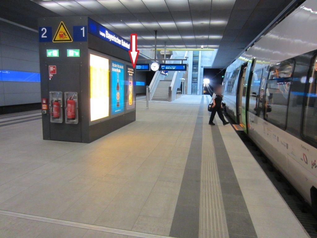 City-Tunnel/Station Bayrischer BH/in Infowand/BS 1