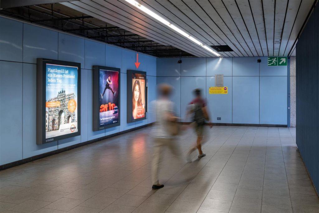 Max-Weber-Platz UG1 Ostseite Ausg. Einsteinstr. 1