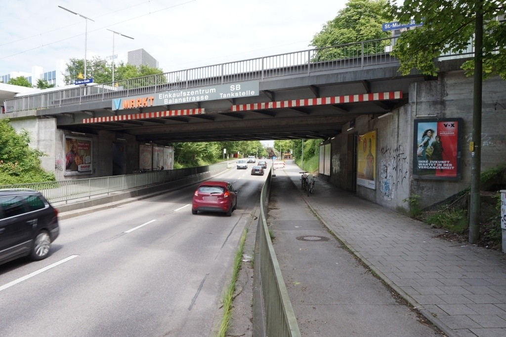 St.-Martin-Str./DB-Brücke saw. re.
