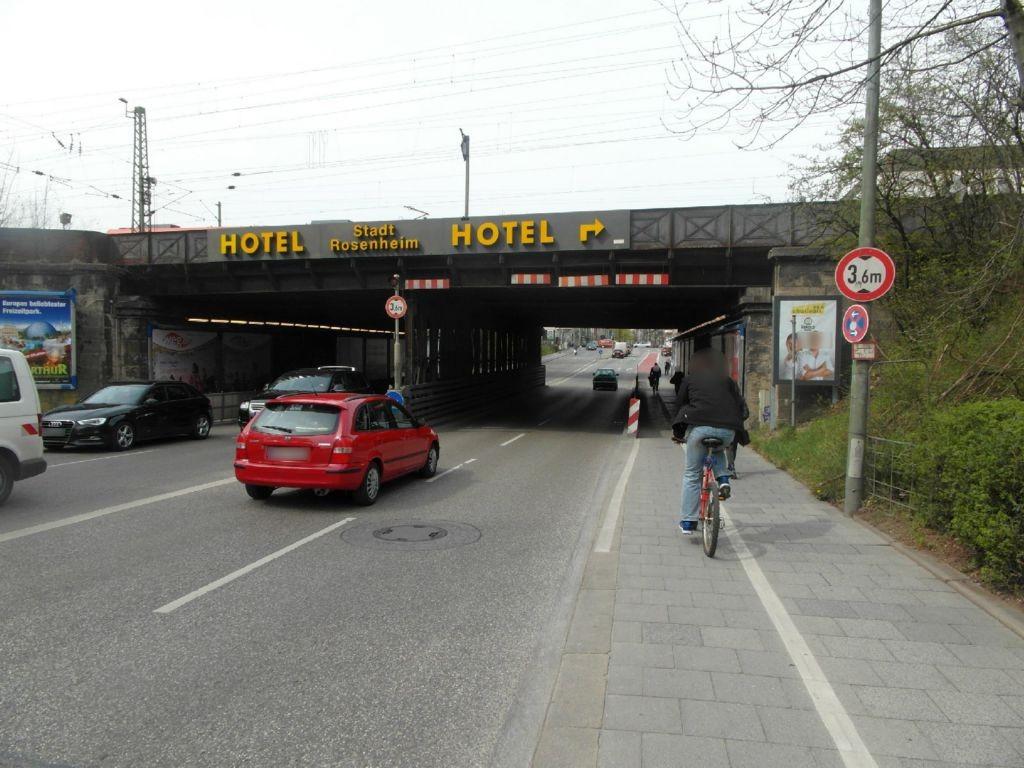 Rosenheimer Str./DB-Brücke sew. re.