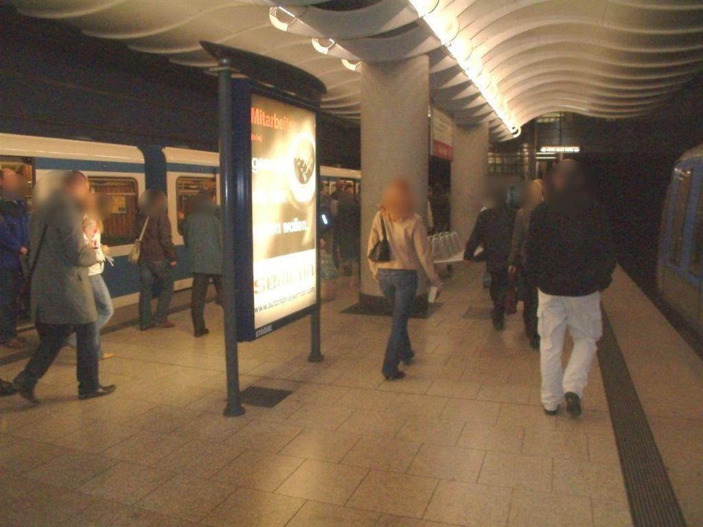 Am Hart/U-Bahnsteig Gleis 1 Ri. Feldmoching 2.Sto.