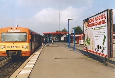 AKN-Bf Ulzburg-Süd/Bahnsteig Rg Ga