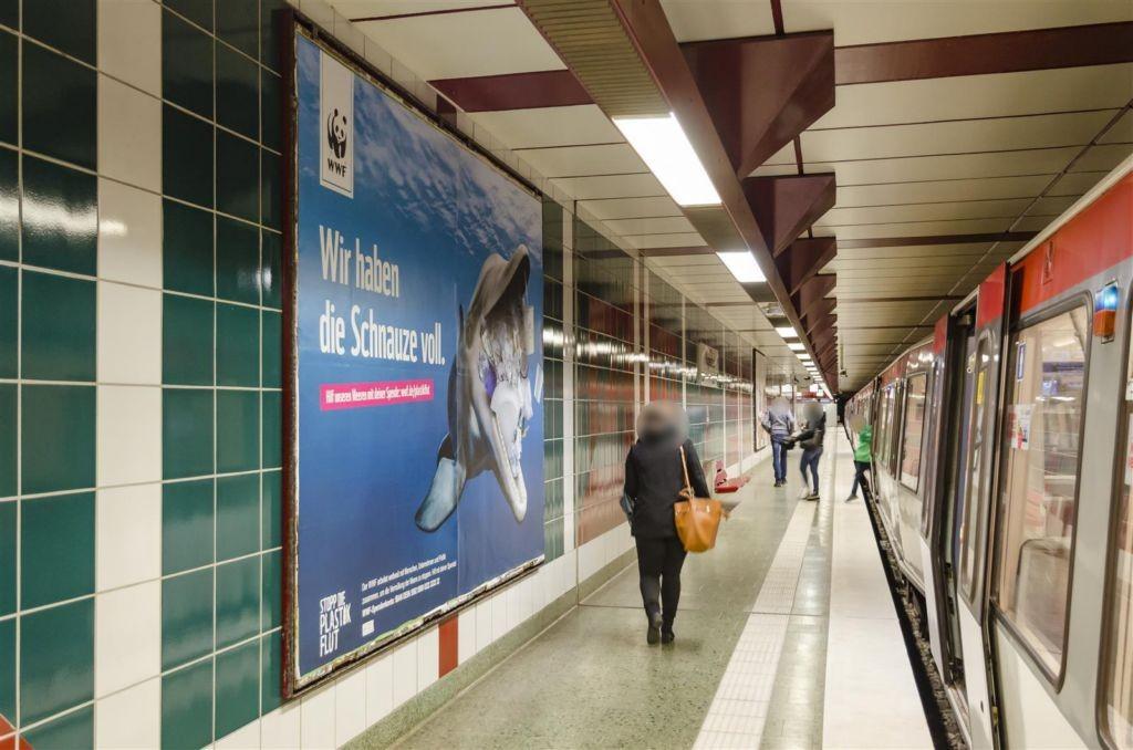 U-Bf Hagendeel Bahnsteig Ri. Hbf.