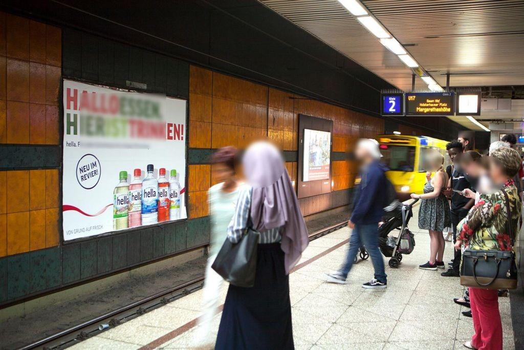 U-Bf Berliner Platz, Bstg., HGL 2, 3. Sto. HGL