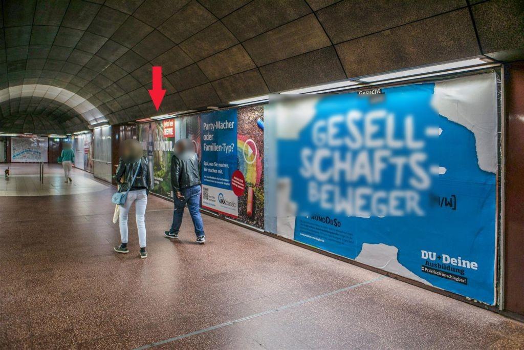 Schweizer Platz/B-Ebene/Ausg. Gartenstr.