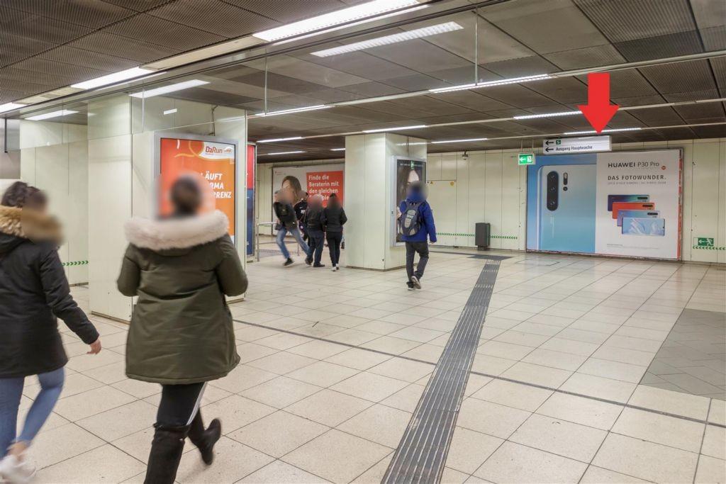 Hauptwache/C-Ebene Bahnsteig Ri. Zoo/U6+7