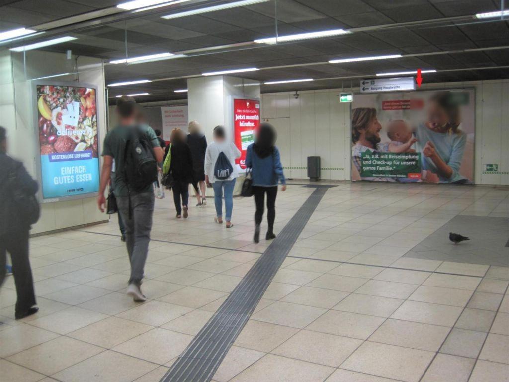 Hauptwache/C-Ebene Bahnsteig Ri. Zoo