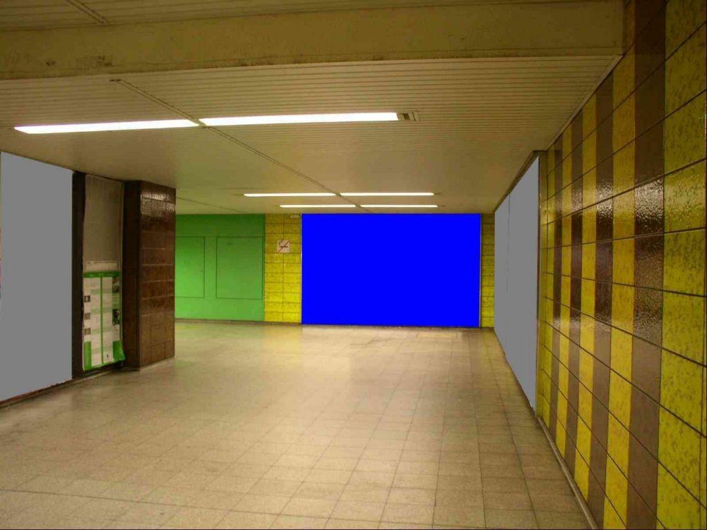 Bornheim Mitte/Abgang D-Ebene/Rolltreppe