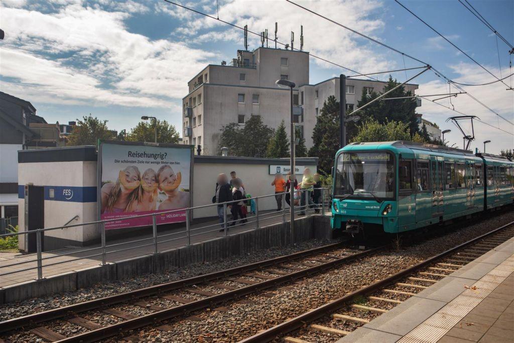 Bonames Mitte U-Bahn-HST/Homburger Landstr.