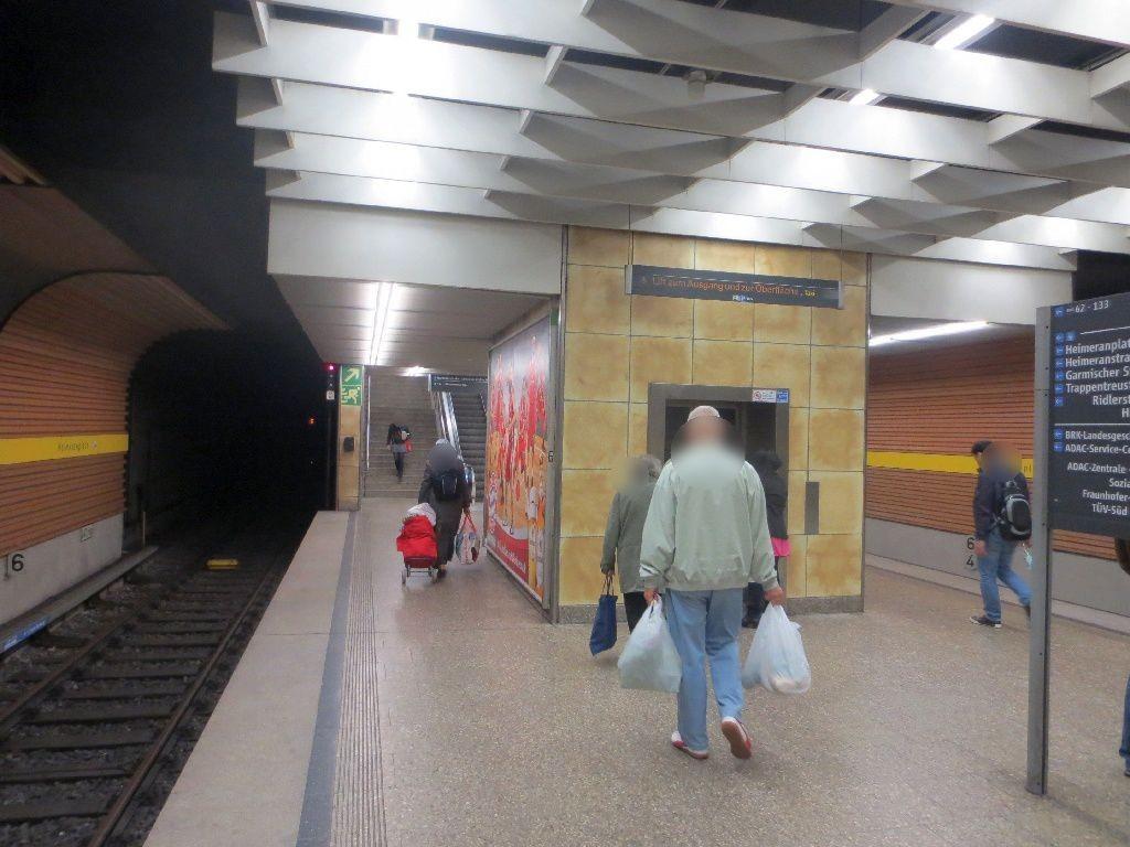 Heimeranplatz/Bahnsteig/Gleis 2