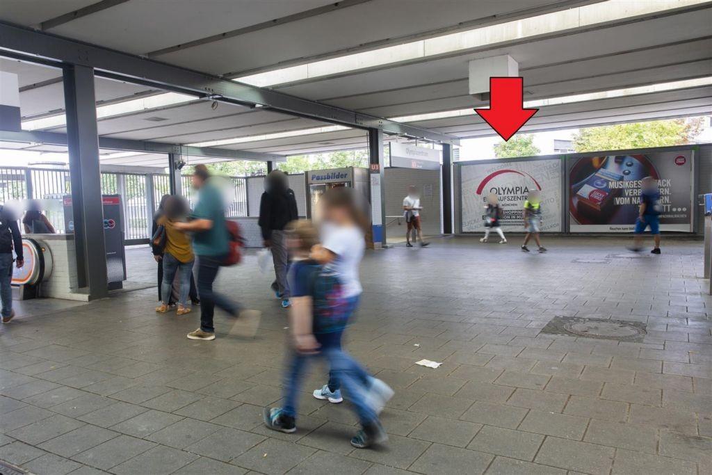 Olympiazentrum/Süd Ausg. Lerchenauer Str.