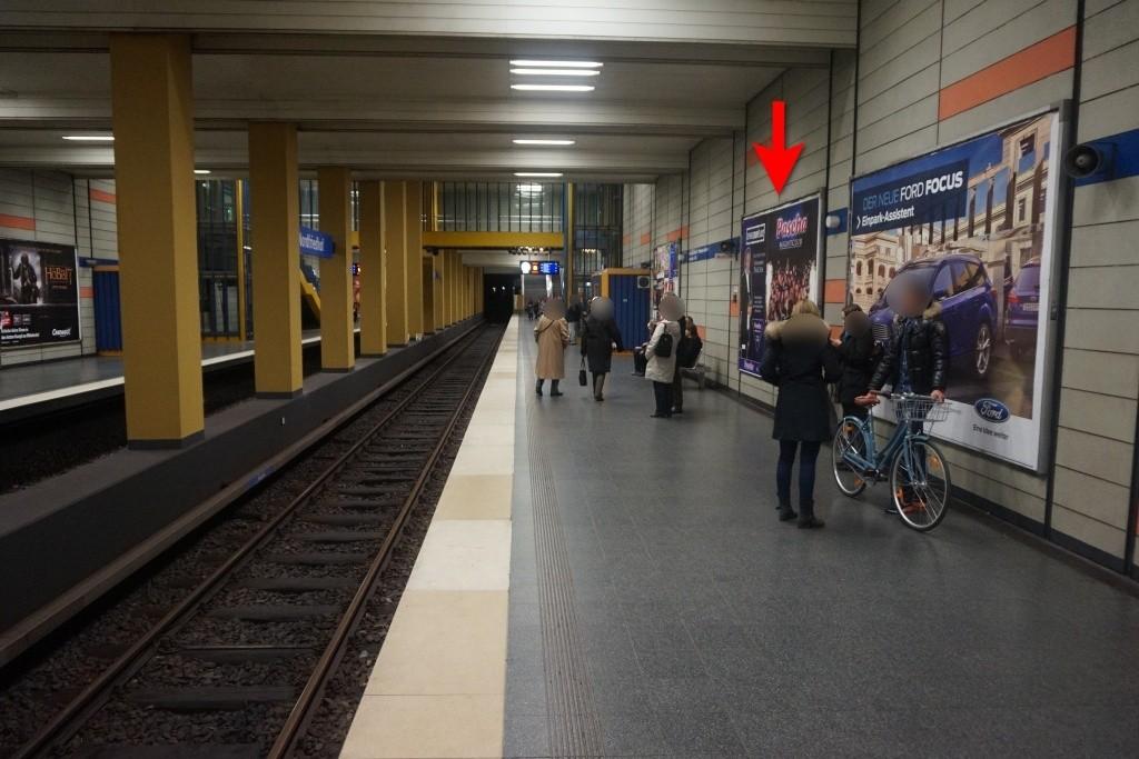 Nordfriedhof/Gleis 2 mi.