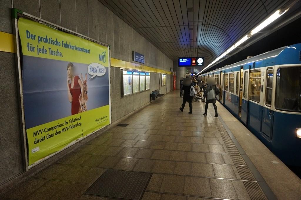 Richard-Strauss-Str./Bahnsteigende/Gleis 2