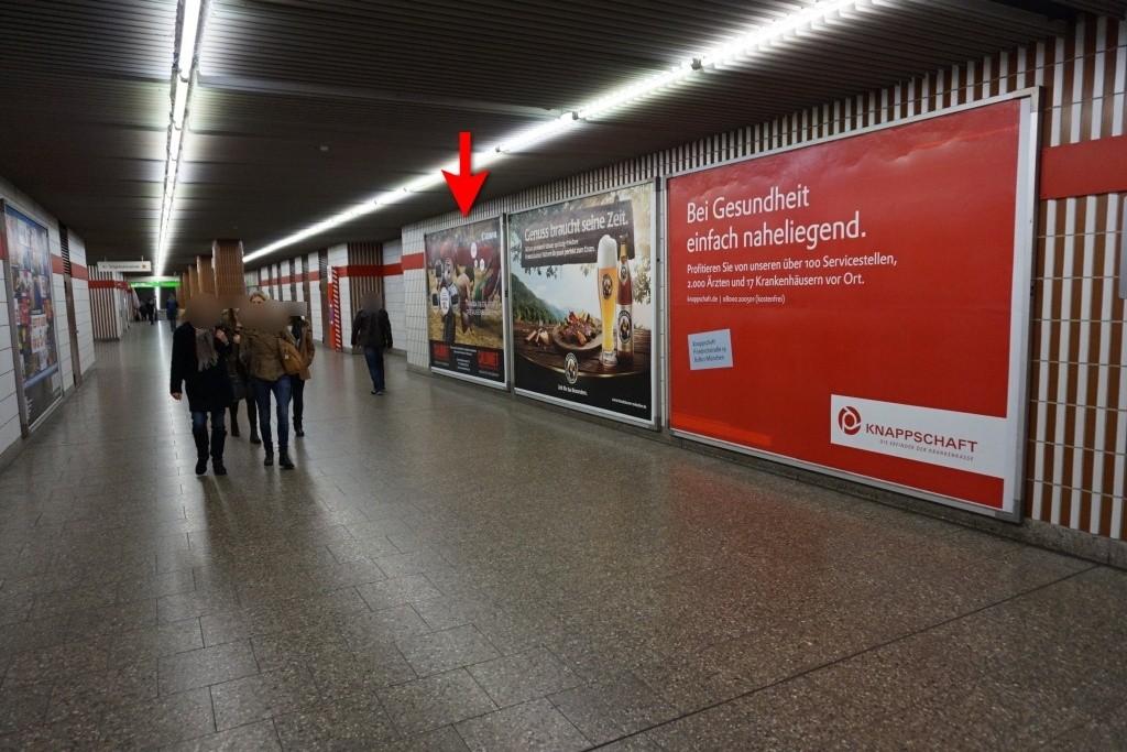 Stiglmaierplatz/Durchg. Ostkopf